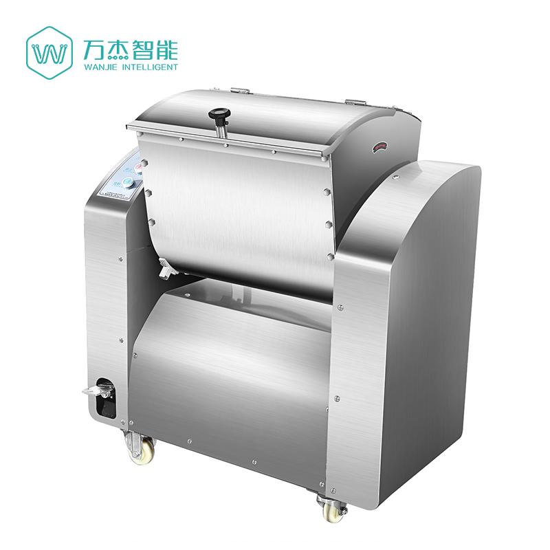 万杰牌和面机商用15kg不锈钢全自动25公斤50斤10大型揉面搅拌机