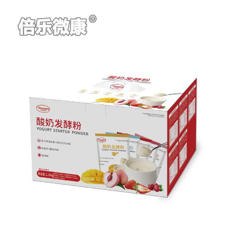 益生菌酸奶发酵粉 混合水果味