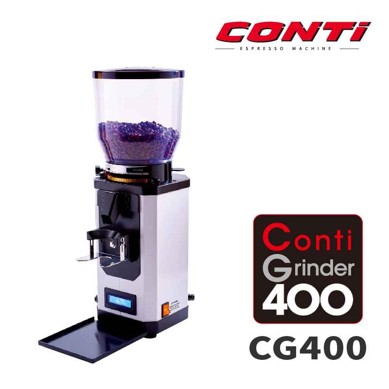 全自動磨豆機CONTI.CG400.白色