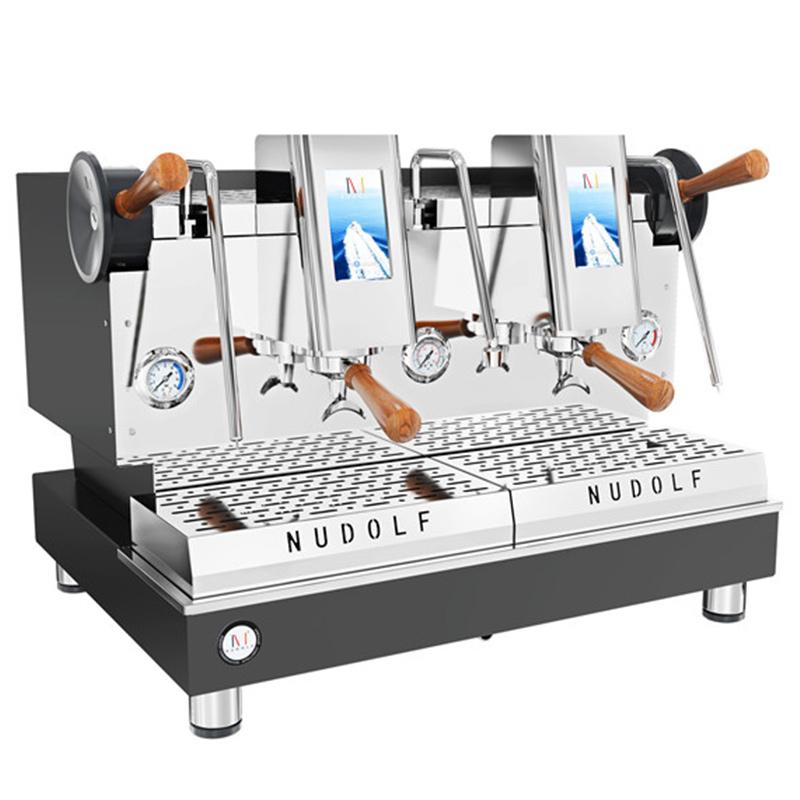 诺道夫智能双头咖啡机 NDF-C2 半自动商用咖啡机