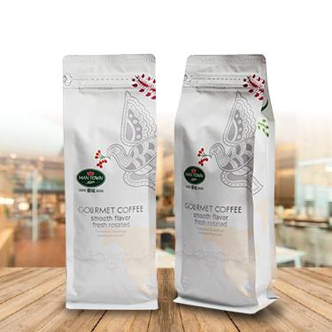 五彩鸟系列 曼城 咖啡豆 454g 袋装