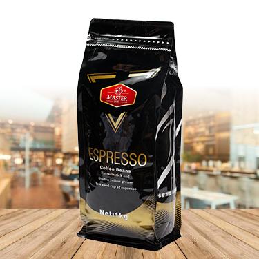 巨匠 臻选意式系列 咖啡豆 熟豆*1kg(3号金标)袋装