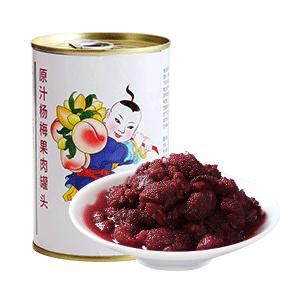 广禧杨梅果肉罐头描述