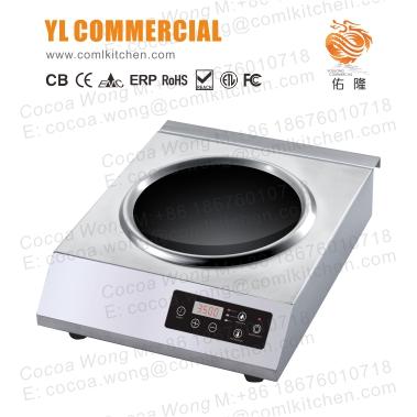 YLC佑隆商用C3512-BW电磁炉中式炒炉电炉