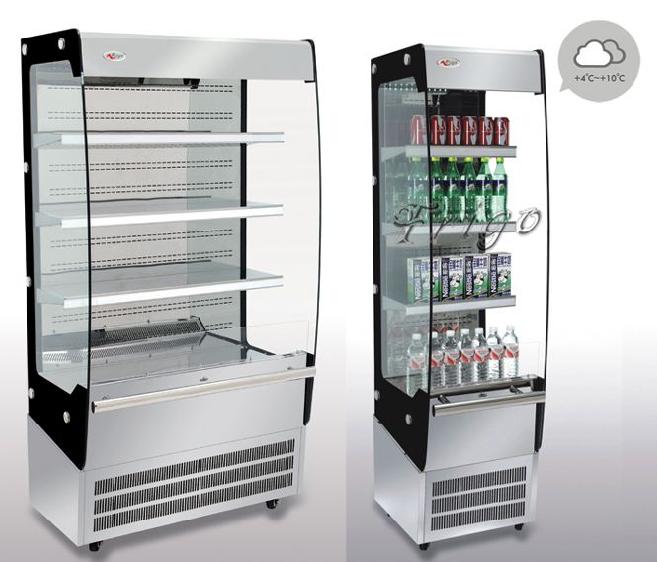 自助系列C款风幕柜饮料柜 Self-Service Series C Model Open Chiller Drink Cooler (FGOR500LC)