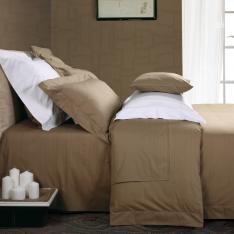 雅棉五星级酒店床上用品300TC纯棉色织高支高密四件套轻舞飞扬床