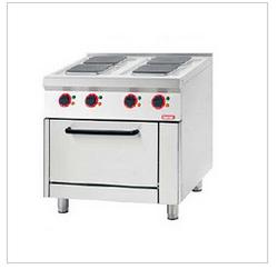 电力四头炉连下烤箱