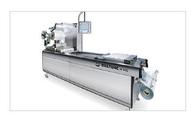 紧凑型热成型拉伸膜包装机