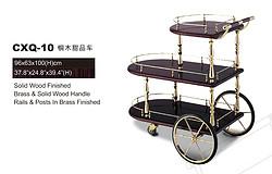 CXQ-10铜木甜品车