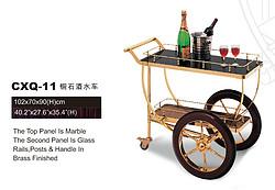 CXQ-11铜石酒水车