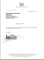 KSI  Authorization letter
