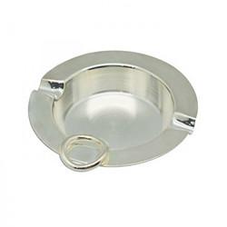 幸运金银器-镀银Q形两头烟缸
