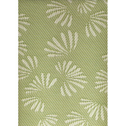 Chilewich Table Runner Green/White Fan / Westin Hotel