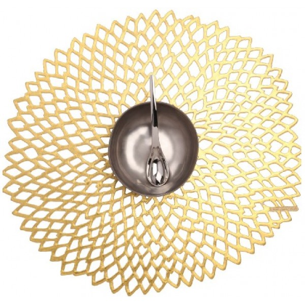 Chilewich Dahlia Gold Placemat / W Hotel