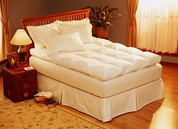 大床羽毛床垫