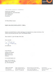 Stolzle Distributor Letter