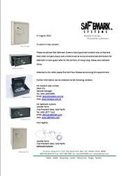 Safemark Distributor Letter
